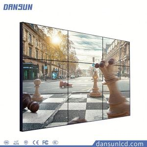 Indoor HD Ultra Narrow Bezel Wall Mounted Hugh Multi Panel LCD Video Wall