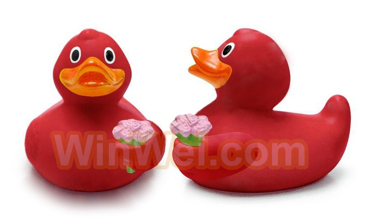 Promotional color changed Rubber Duck