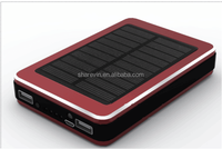 solar power bank 11000mAh-13000mAh mobile power bank T501
