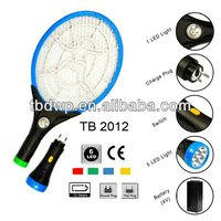 CE&Rohs rechargeable electronic mosquito swatter