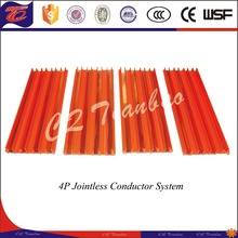 Supply 4p conductor system flexible flat copper busbars