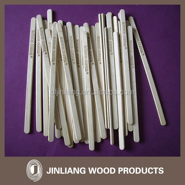 High quality wooden stirrers paint