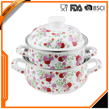 Top selling products in alibaba China supplier factory sale enameled steel cookware