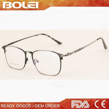 Metal vintage eyewear stylish glasses frame for men