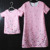 Charm floral printing short sleeve mother and daughter matching dresses wholesale 200pcs