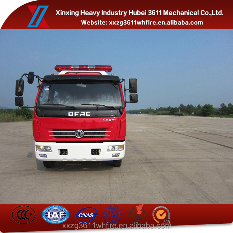 Hot Model 4000L Dongfeng Water And Foam Small Fire Truck