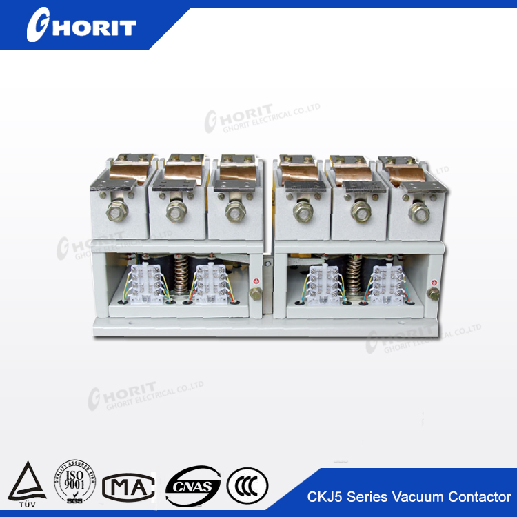 ISO9001 Medium Voltage AC DC CKJ5 2 poles magnetic circuit contactor