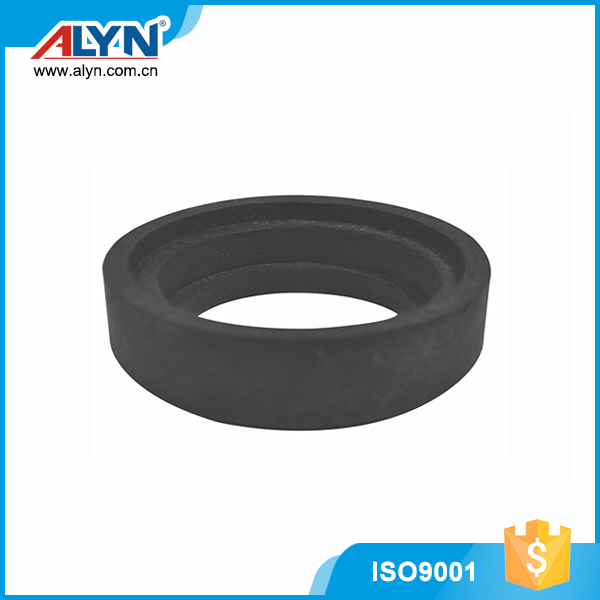 High quality round black durable rubber toilet bowl gasket