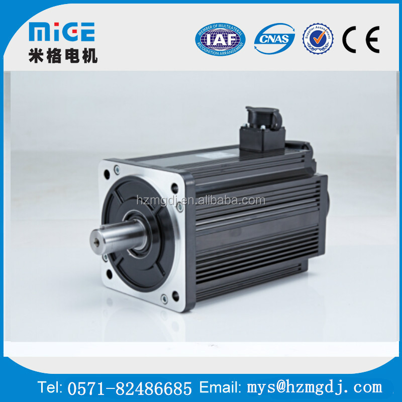 150 series 5.5 KW 2000 rpm AC Mige servo motor220V and driver system