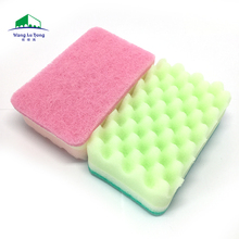 Non-deformation kitchen ware foam sponge for dish cleaning quickly