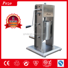 HAND MANUAL TYPE RESTAURANT STAINLESS STEEL SAUSAGE FILLER MACHINE