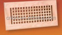 egg crate wooden return air diffusers HVAC