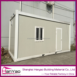Cheap Price 20ft Customized Storage/Toilet Containers Prefab Home Insulation Living Container House