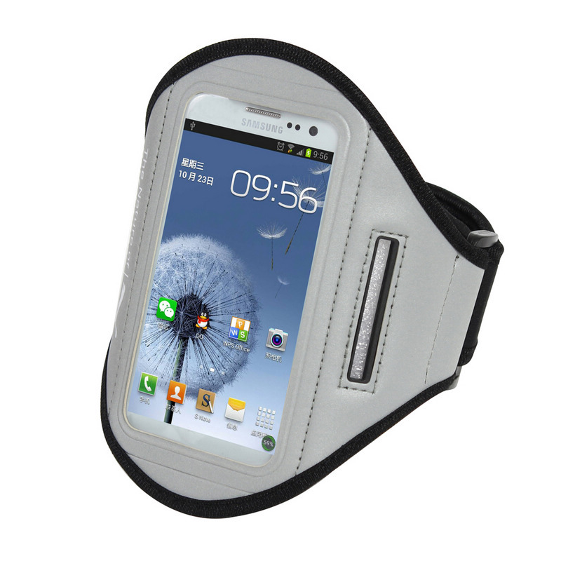 Sports Strap Running Armband Bag Outdoor Sport Running Smartphone Bag Case for Galaxy S4 mini