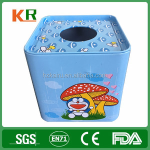 Wholesale High Quality Square Tissue Tin Box