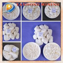 Chinese cheap pure white pebble stone for sale