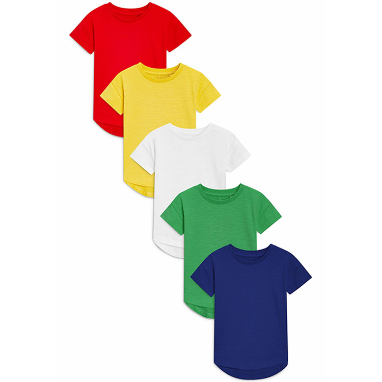 BABY//TODDLER COLOURED PLAIN T SHIRTS