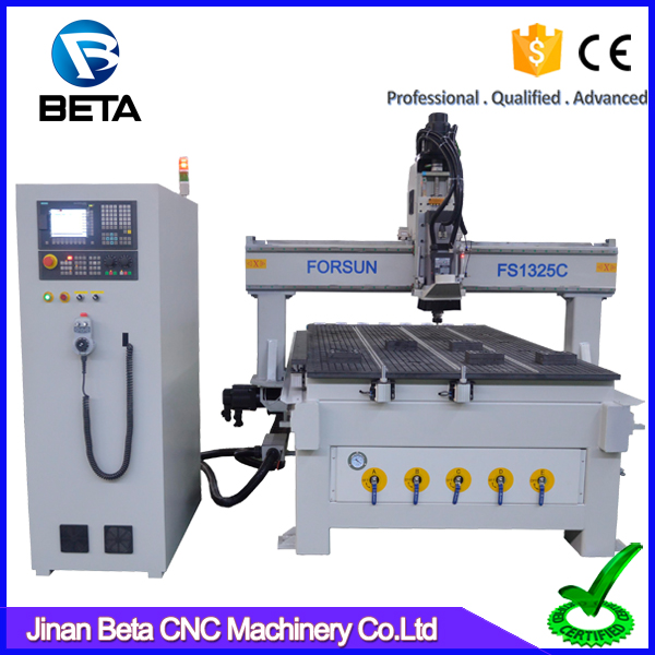 Hot sale! 3d atc woodworking machines 1325 milling cnc router wood carver for timber cabinet kitchen mdf