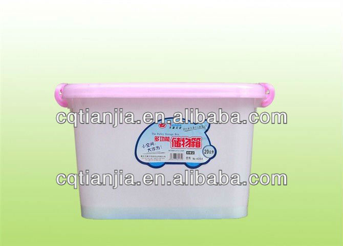 china outdoor fuinitures eco-friendly plastic storage container with folding lid and handle