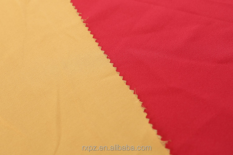 Fabrics supplier Best selling Fashion Satin polyester crepe fabric