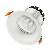 CE RoHS SAA 5inch 25w fixed dimmable recessed low UGR cob chip adjustable light dimmable ceiling downlight led