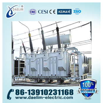 110kv 30mva Three Phase Step Down Power Transformer with Iron Core