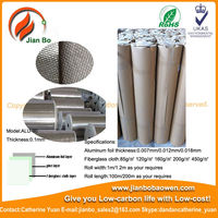 Aluminum Foil Glass Cloth,duct wrap,waterproof insulation