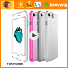 Import Mobile Phone Accessories mirror with LED Light Up Case For Iphone 6