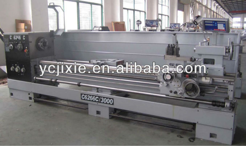 C6266C High precision heavy duty industrial lathe