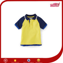 fashion bulk cheap price boys multicolored replica polo t-shirts brand child minion sample design of apparel /costume for kids