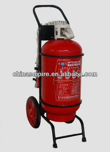 MED approved transportable dry powder fire extinguisher
