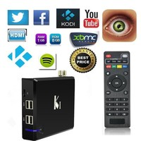 KI Amlogic S805 Quad core Support most external 3G USB dongle android smart tv box