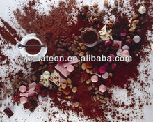 alkalized black cocoa powder for candy confection