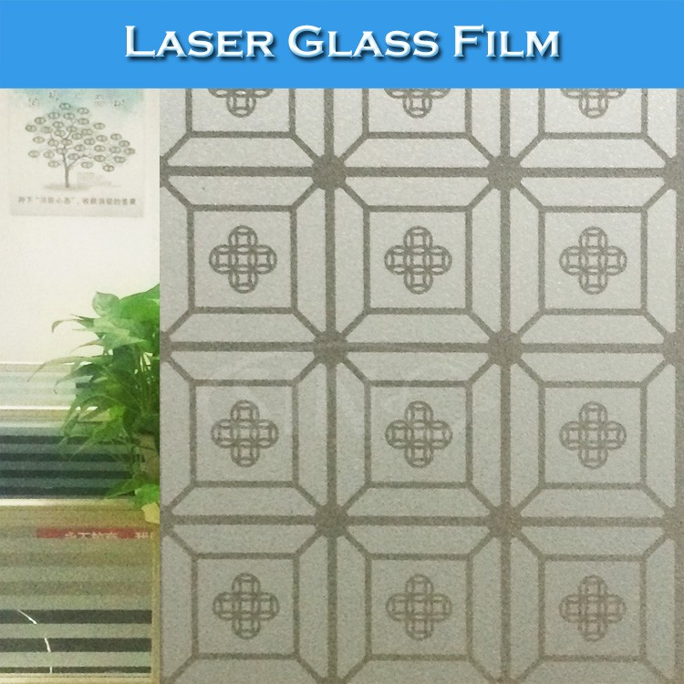 G011 1.22x50M High Quality Laser Window Glass Film For Keeping Privacy