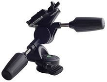 OEM and ODMAluminum professional professional tripod camera 3 Way Pan/Tilt Head for photography