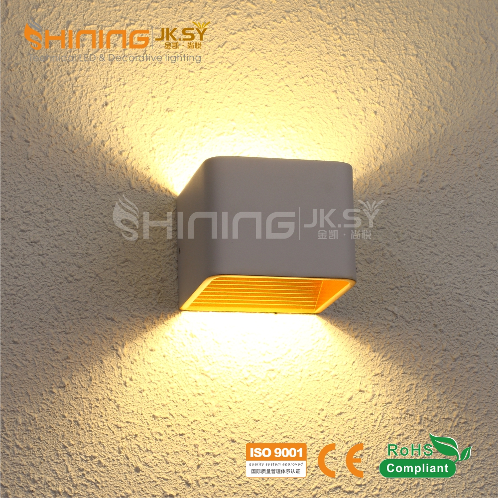 modern indoor lamp for hotel led wall light ,led project wall light for restaurant made in China