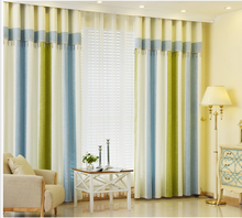Hot sale hotel chenille blackout curtains and drapes