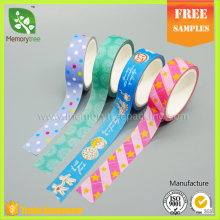 Acrylic Adhesive and Offer Printing Design tape Printing washi adhesive tape