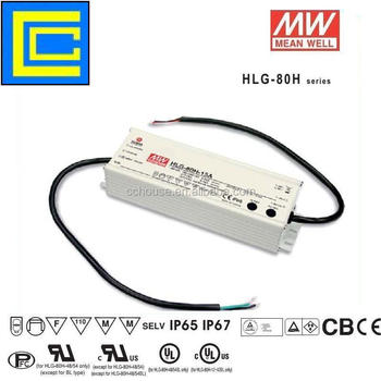 Genuine Meanwell HLG-80H-42A 80w pcb assembly for switching power supply