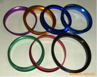 colorful hub centric rings for wheel rim