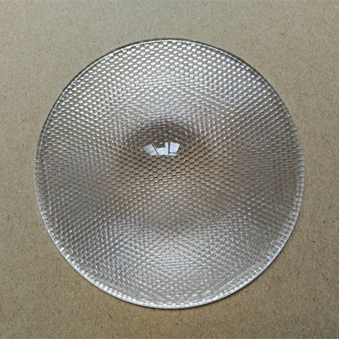 Compound eye honey comb fresnel lens fly eye lens 70mm diameter 40mm focal length