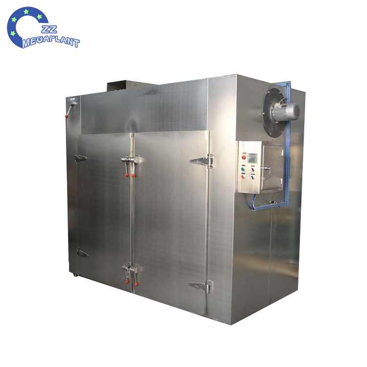 Industrial factory price hot air textile and yarn drying oven machine
