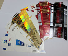 Transfer Metallized paper & paperboard in cigarette packaging