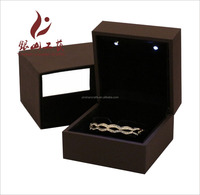 Stamping printing handling wooden jewelry box