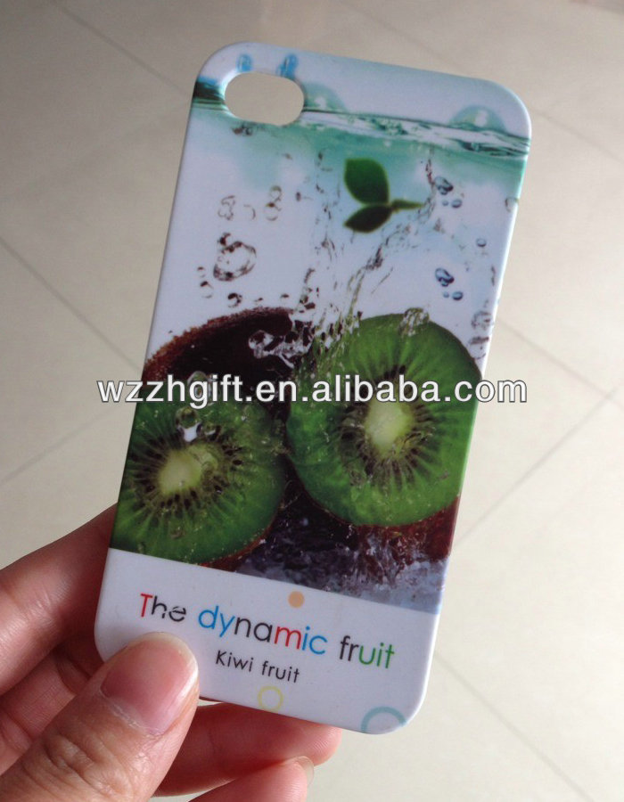 Plain hard plastic phone case for cell phone accessories/Sweety fruit phone cover