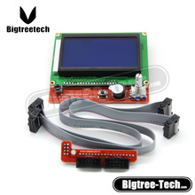 WHOLESALE 12864 LCD control panel 3D printer smart controller 12864LCD! Ramps1.4 LCD