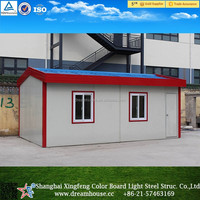 Economic prefabricated steel kit cabins/prefab light frame kit homes