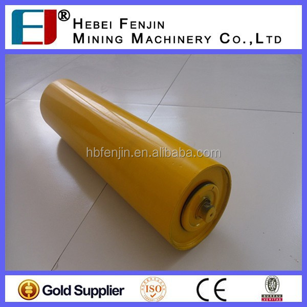 108mm Diameter Carbon Steel Carrying Guide Roller For Bulk Material Handling