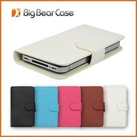 wallet leather case for samsung galaxy trend i699 cover
