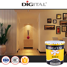 Waterproof scrub resistant interior wall paint